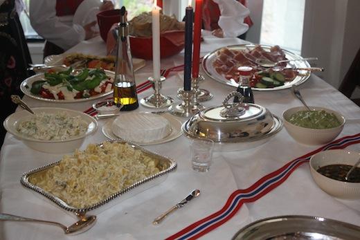 17 mai frokost buffet